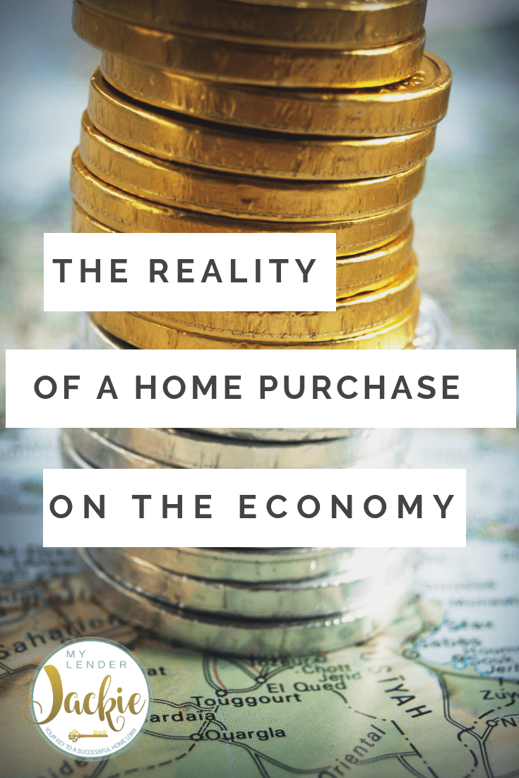 How Much Money Goes To the Economy With a Home Purchase?