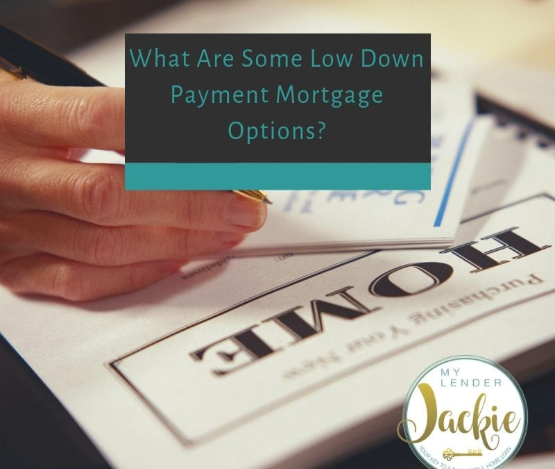 What Are Some Low Down Payment Mortgage Options?