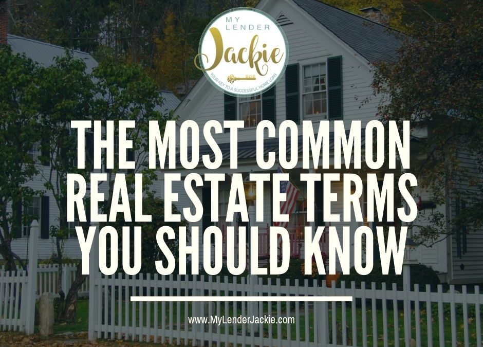 Common Real Estate and Mortgage Terms