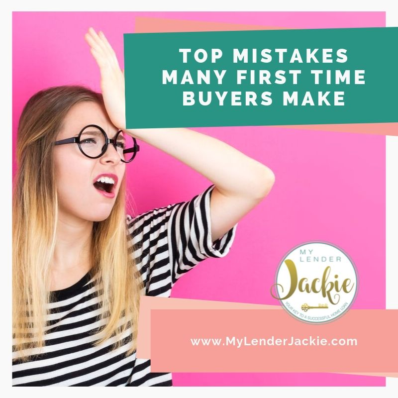 Top Mistakes Many First Time Buyers Make