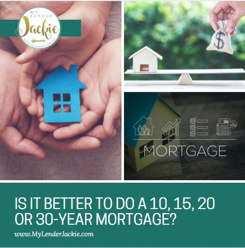 Is it Better to Get a 10, 15, 20 or 30-Year Mortgage?