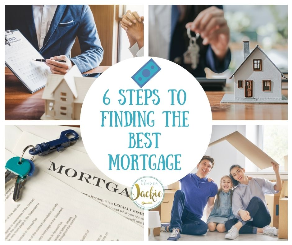 6 Steps to Finding the Best Mortgage