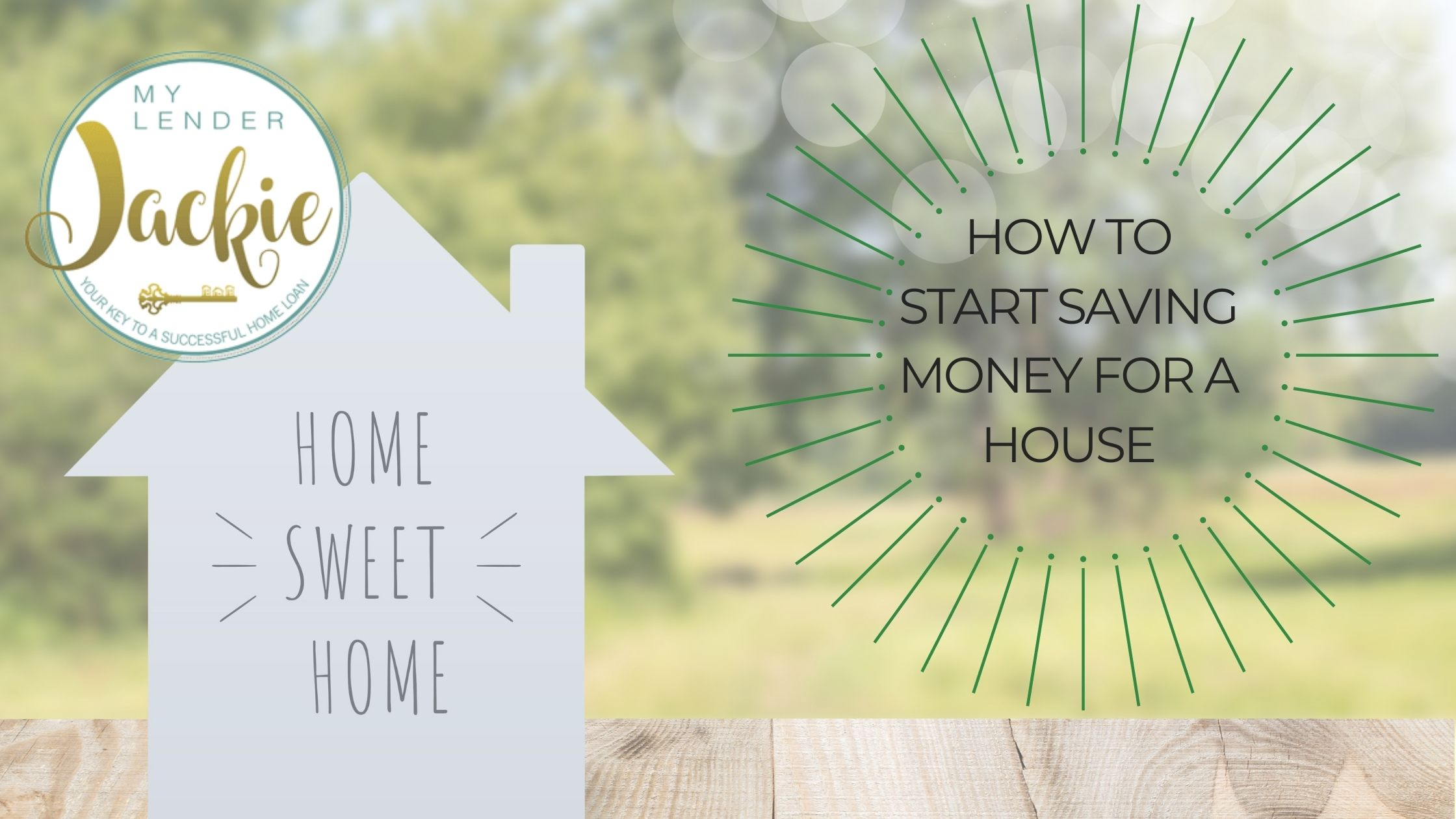 How to Start Saving Money for a House