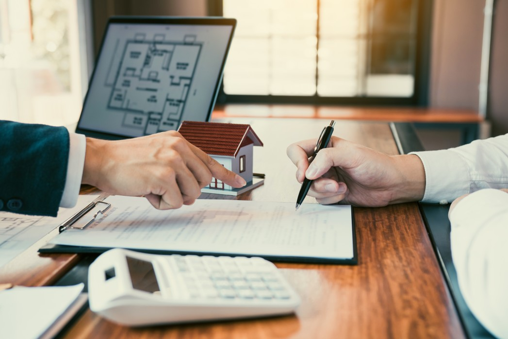 How can you protect yourself as a co-borrower on a mortgage loan?